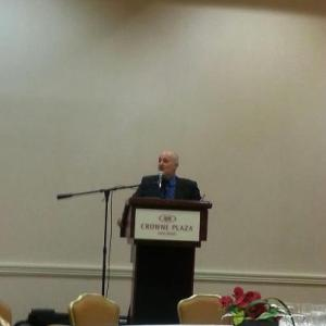 Southern California Writer's Conference keynote speaker David Brin (photo by Gayle Carline)