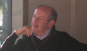 Former Poet Laureate of the US and bestselling poet Billy Collins (photo by Martha Halda)
