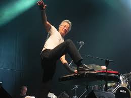 Ray Manzarek performing in Milan, 2012