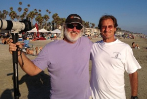 Catching up in Oceanside with fellow Breakout editor Kevin Kinnear