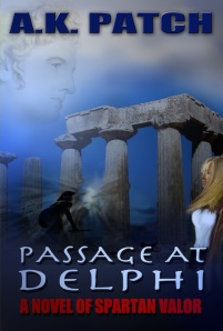 """Passage at Delphi,"" the forthcoming novel by Allan Patch"