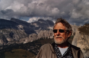 Gary Snyder, in his element